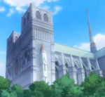 Notre Dame de Paris depicted in Shukufuku no Campanella picture image