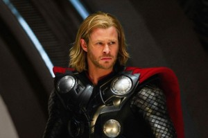Chris Hemsworth as Thor picture image