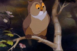 Friend Owl Bambi picture image