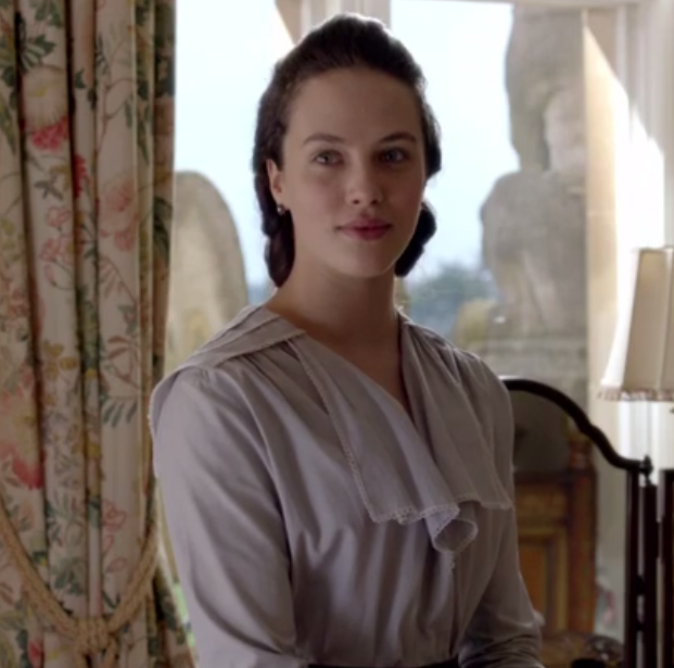 First look at Michelle Dockerys new role that would leave her Downton Abbey character blushing
