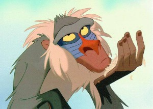 Rafiki The Lion King picture image