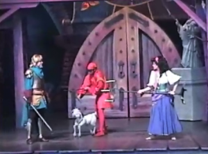 Djali as a Marionette Disney Hunchback of Notre Dame Stage Show