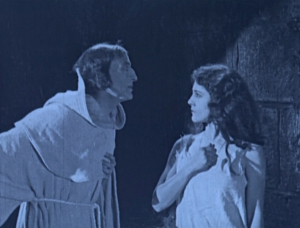 Esmeralda Rejecting Frollo Hunchback of Notre Dame Patsy Ruth Miller 1923 picture image