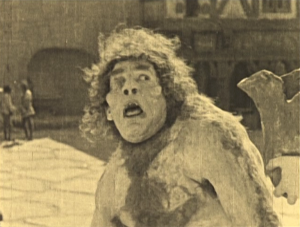 Quasimodo on the Pillory Hunchback of Notre Dame 1923 Lon Chaney picture image