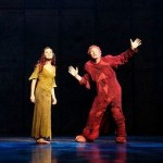Candice Parise as Esmeralda and Matt Laurent as Quasimodo Asian Tour 2012 Notre Dame de Paris picture image