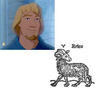 Aries Phoebus hunchback of Notre Dame disney picture image