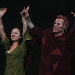 Candice Parise as Esmeralda & Matt Laurent as Quasimodo 2012 Asian Tour Cast Notre Dame de Paris picture image