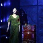 Cadice Parise as Esmeralda and Robert Marien as Frollo Asian Tour Cast Notre Dame de Paris 2012 picture image