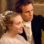 Amanda Seyfried as Cosette & Eddie Redmayne as Marius Les Misérables 2012 movie picture image
