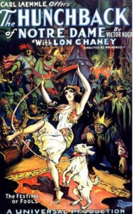 Hunchback of Notre Dame 1923 Poster picture image