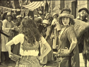 Marie; Queen of the Gypsies (Eulalie Jenson) Hunchback of Notre Dame 1923 picture image