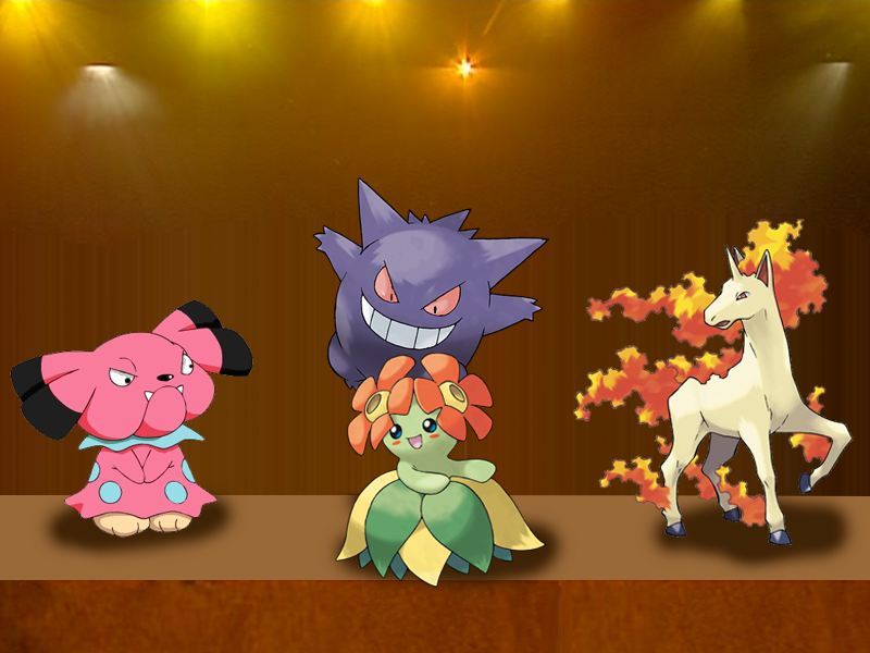 Pokemon performing Belle Notre dame de Paris picture image