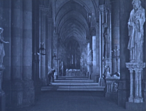 A Matte Painting used 1923 Hunchback of Notre Dame picture image