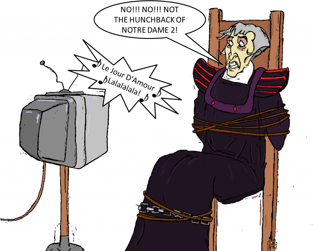 How to Torture Frollo by Pelycosaur24 picture image