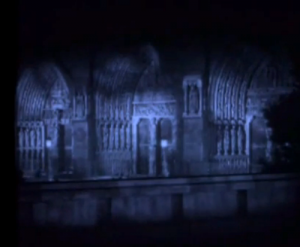 The Notre Dame Set in the Chaney version of the Phantom of the Opera picture image