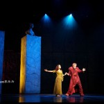 Candice Parise as Esmeralda & Matt Laurent as Quasimodo 2012 Asian Tour of Notre Dame de Paris picture image