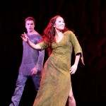 Candice Parise as Esmeralda & Stephen Webb as Phoebus Notre Dame de Paris Asian Tour picture image