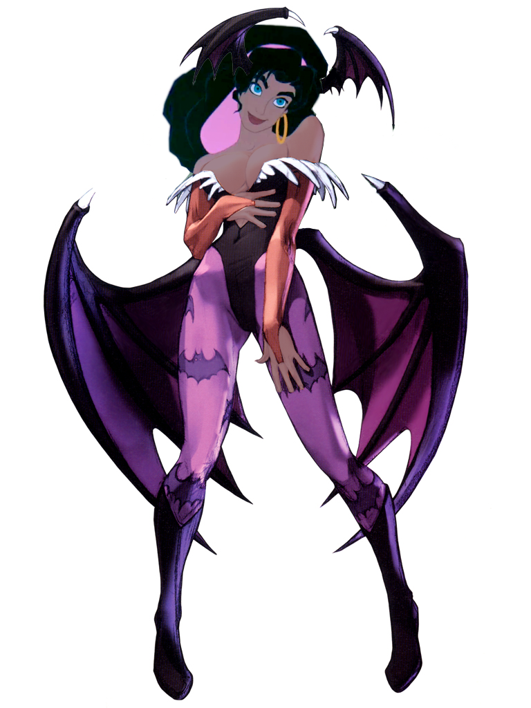 Esmeralda as Morrigan picture image