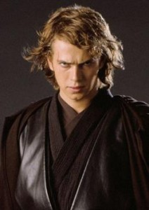 Hayden Christensen as Anakin Skywalker, Star Wars Episode III Revenge of the Sith picture image