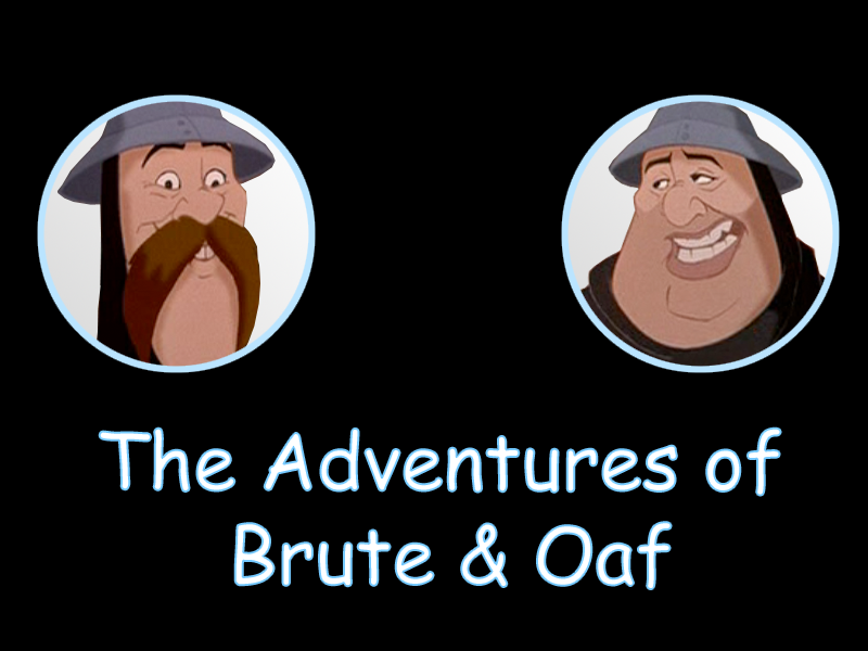 The Adventures of Brute & Oaf picture image
