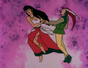 Esmeralda dancing with Gringoire, The Hunchback of Notre Dame, Jetlag picture image