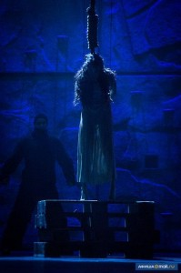 The Death of Esmeralda (Alessandra Ferrari), World Tour Cast Notre Dame de Paris, Crocus City picture image