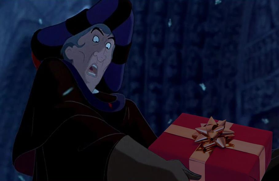 Frollo gets a Present picture image