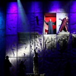 Robert Marien as Frollo, Matt Laurent as Quasimodo & Candice Parise as Esmeralda Asian Tour Notre Dame de Paris picture image