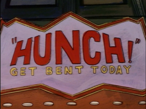 The Hunch Marquee, The Critic picture image