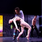 Dennis Ten Vergert as Gringoire with a Dancer, Notre Dame de Paris, Asian Tour picture image