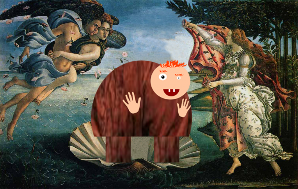 The Birth of Quasimodo,