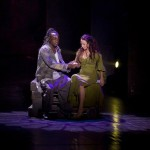 Ian Carlyle as Clopin &amp; Alessandra Ferrari as Esmeralda, Notre Dame de Paris World Tour Cast picture image