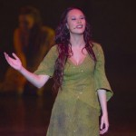 Alessandra Ferrari as Esmeralda, Notre Dame de Paris World Tour Cast picture image