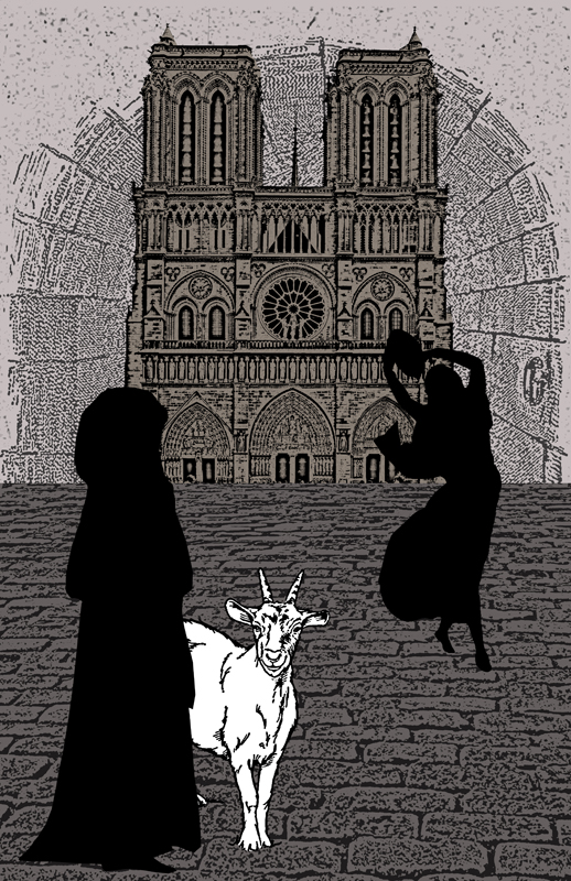 Hunchback Digital  Collage  by AnaykhOntheDoor