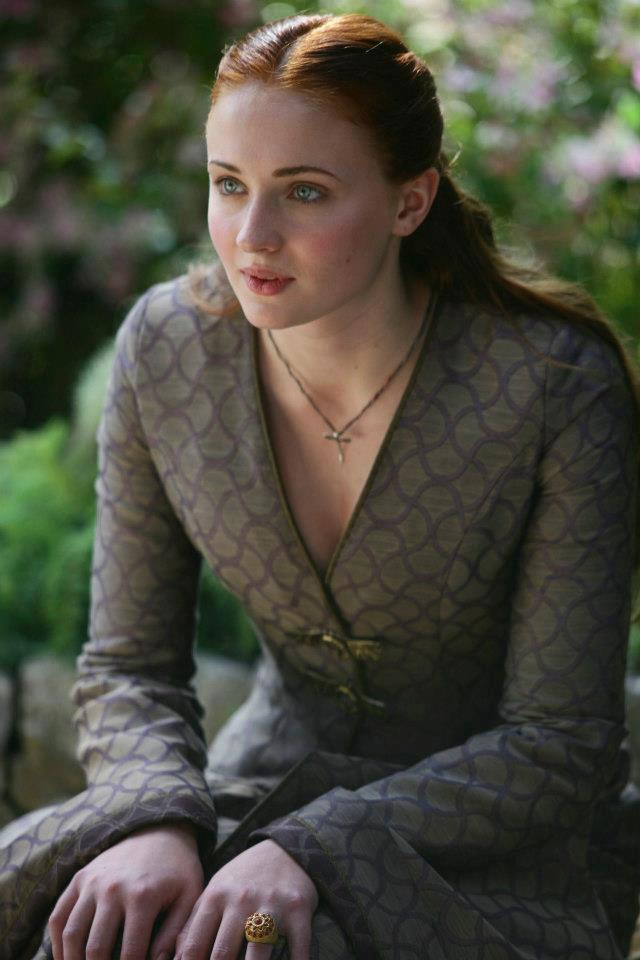 Sophie Turner as Sansa Stark, Game of Thrones  picture image