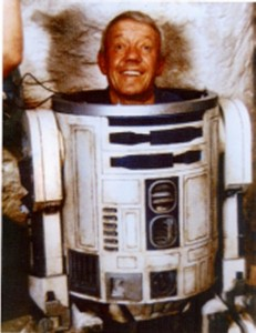 Kenny Barker as R2D2, Star Wars picture image