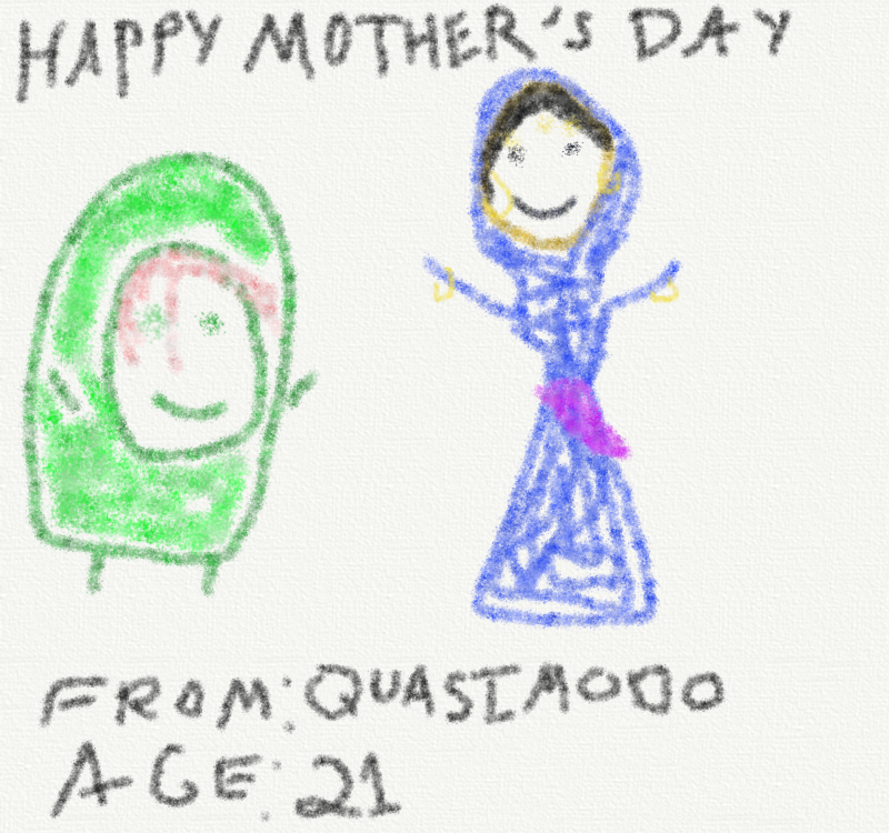 Happy Mother's Day from Quaismodo picture image