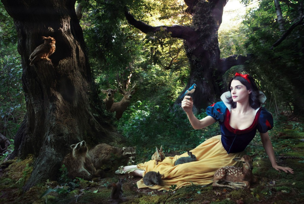 Rachel Weisz as Snow White from Snow White, by Annie Leibovitz, picture image