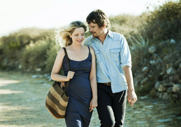 Julie Delpy and Ethan Hawke  in Before Midnight  picture image