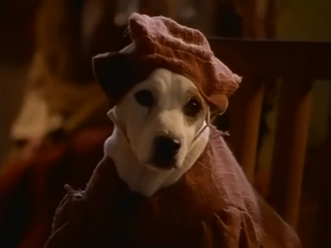 Wishbone as Quasimodo, The Hunchdog of Notre Dame, picture image