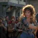 Lesley-Anne Down as Esmeralda, 1982 Hunchback of Notre Dame, picture image