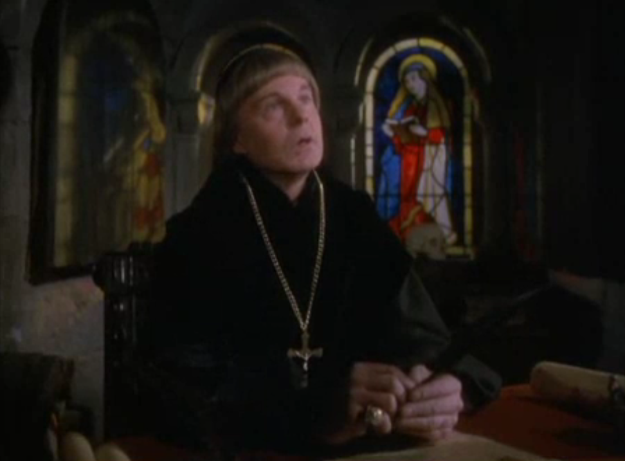 Derek Jacobi as Frollo, 1982 Hunchback of Notre Dame picture imahe