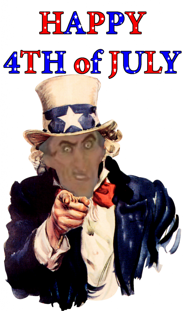 Uncle Frollo, July 4th, picture image
