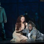Alessandra Ferrari as Esmeralda & Ian Carlyle as Clopin, Notre Dame de Paris, World Tour, Crocus City Hall picture image