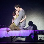 Alessandra Ferrari as Esmeralda & Yvan Pedneault as Phoebus, Notre Dame de Paris World Tour cast, Crocus City Hall picture image