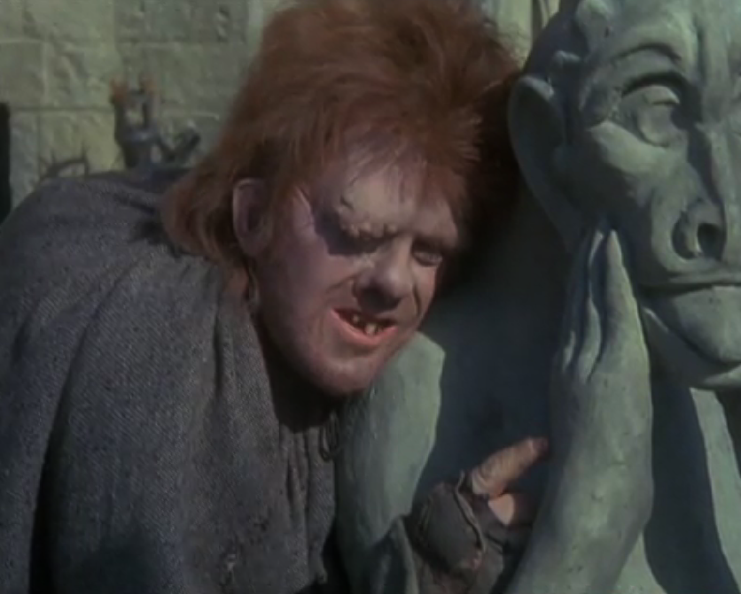Anthony Hopkins as Quasimodo, 1982 Hunchback of Notre Dame picture image