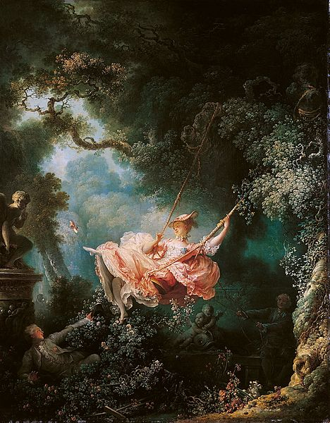 The Swing  by Jean-Honore Fragonard picture image