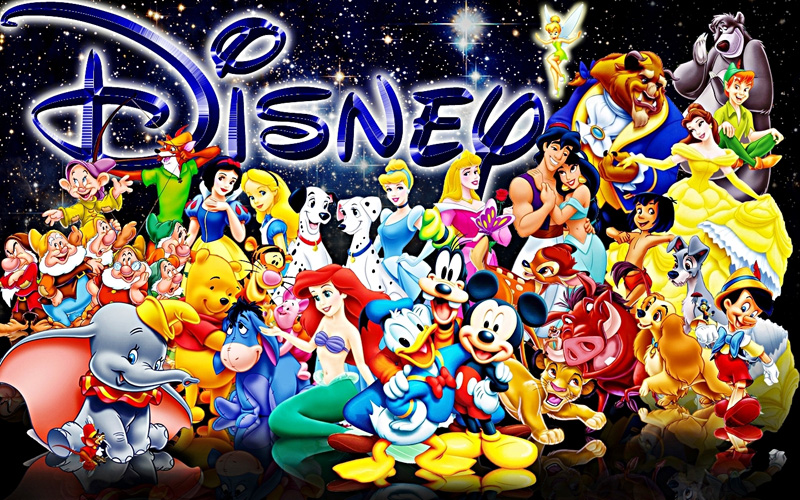 Walt Disney Characters  picture image