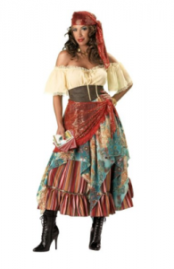 In Character Costumes, LLC Fortune Teller Dress picture image