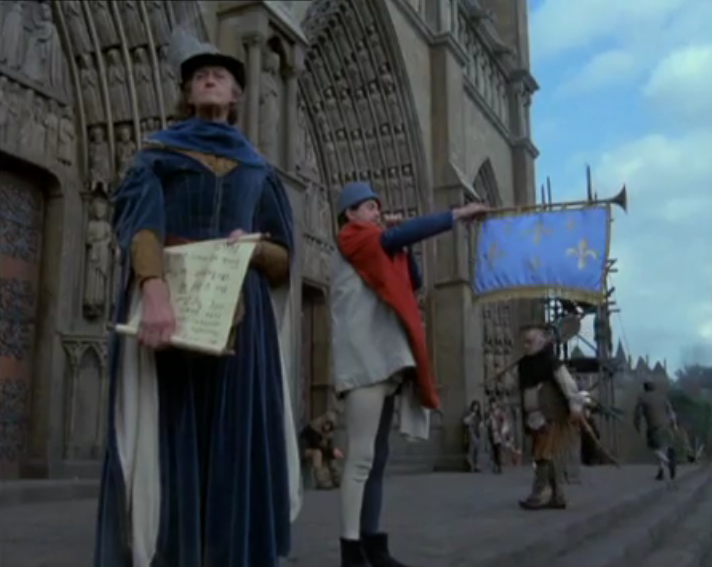 Sets of the 1982 Version of The Hunchback of Notre Dame picture image